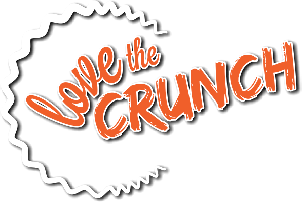 Love the Crunch logo