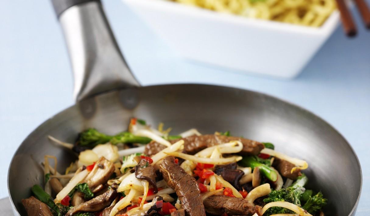 Beef  Mushroom Stir Fry