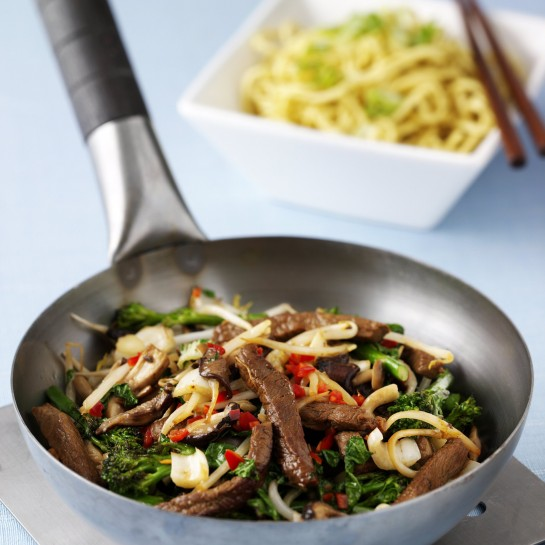 chilli beef stir fry recipe