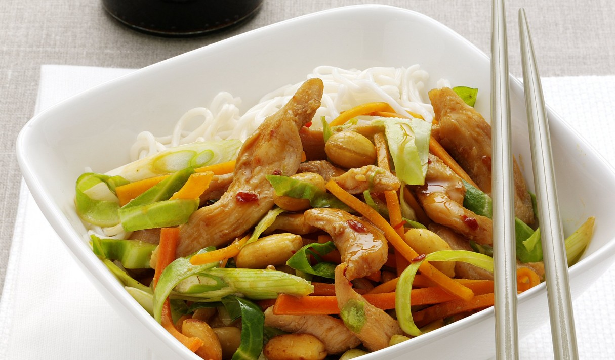 CHICKEN STIR FRY+P