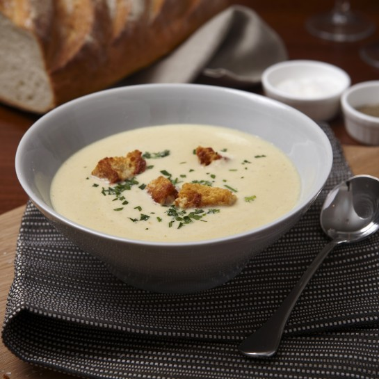 Celery and Stilton Soup recipe