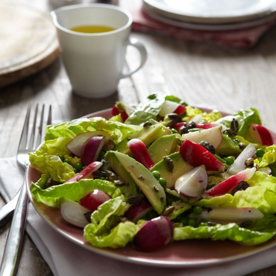 radish avacado salad recipe
