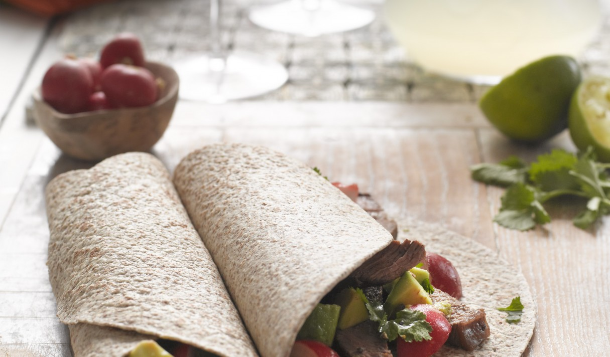 Mexican-Beef-wraps