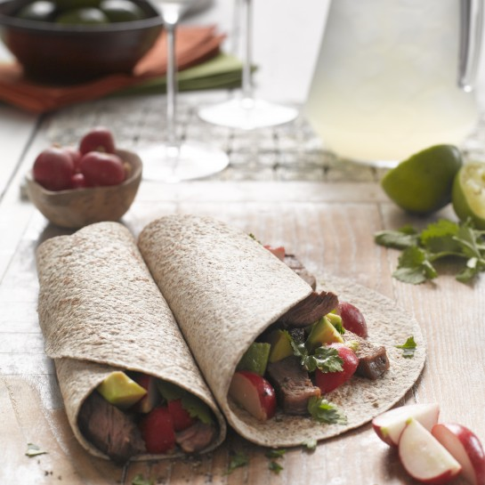 mexican steak wraps
