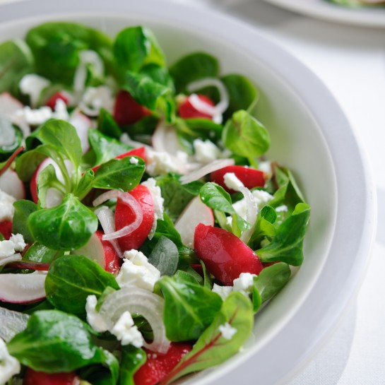 radish and feta salad recipe