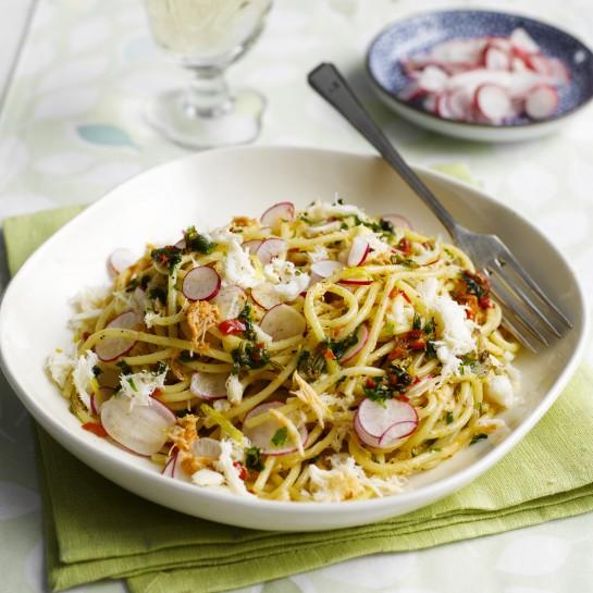 crab spagetti recipe