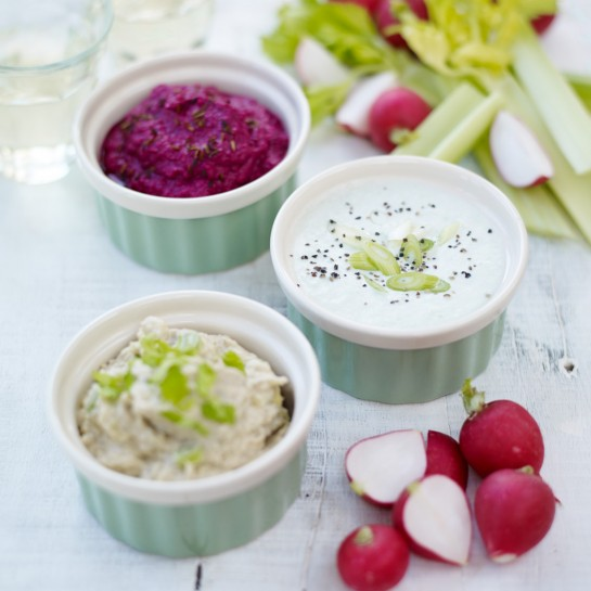Celery and roquefort dip